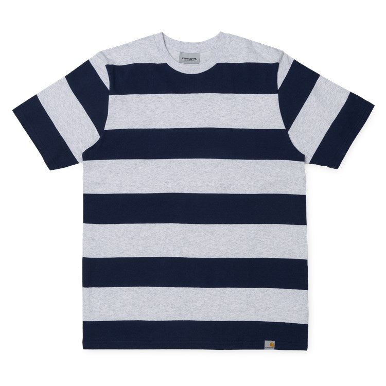S/S Fisher Stripe T