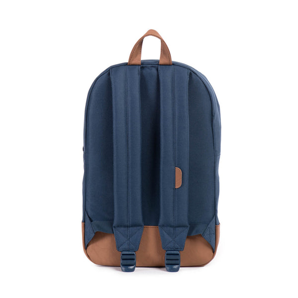 Heritage Backpack - Navy / Tan