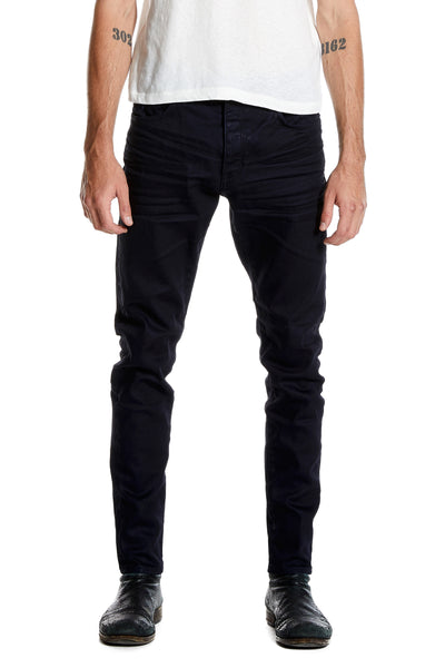 Ray Tapered Jean – Pure Black