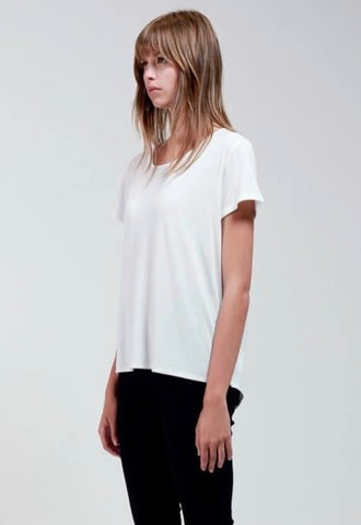 Bamboo Cotton T - White