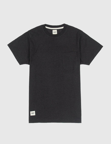Blake Pocket T-Shirt - Black Melange