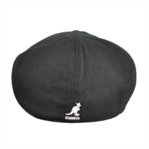 504 Wool Flexfit Cap - Black