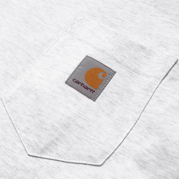S/S Pocket T - Ash Heather