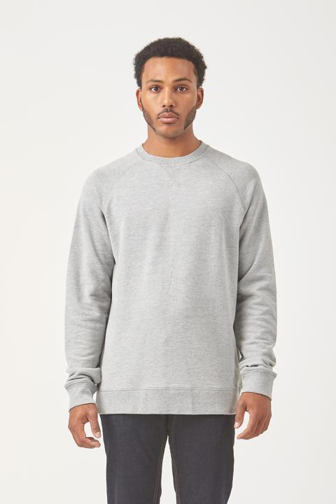 Crue Crew Sweater - Grey Marle