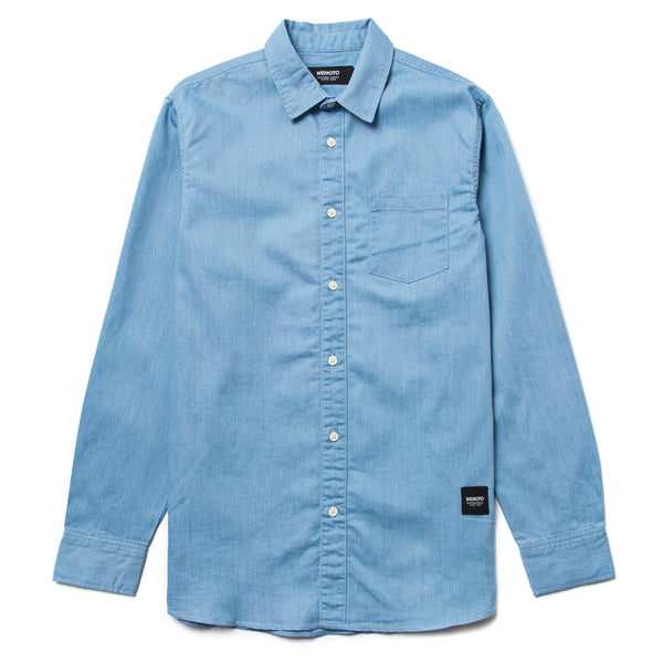 Dillinger L/S Shirt - Light Denim