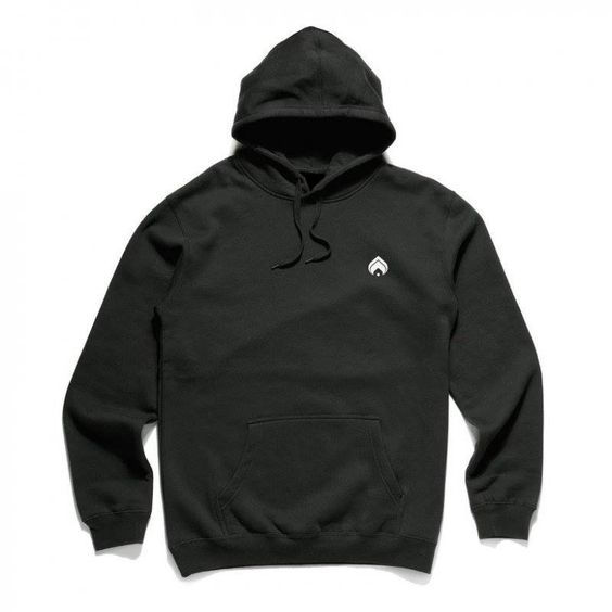 Embroidered Logo Hood
