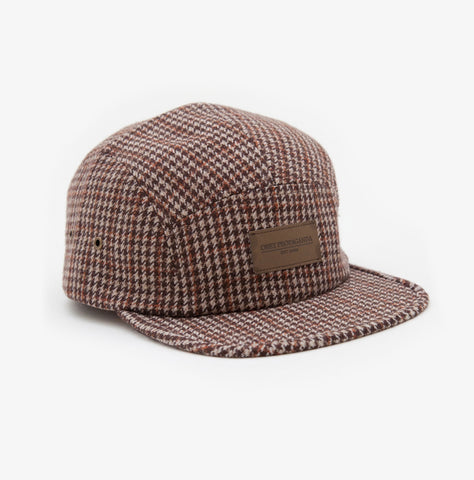 Auxilary 5 Panel Hat - Brown