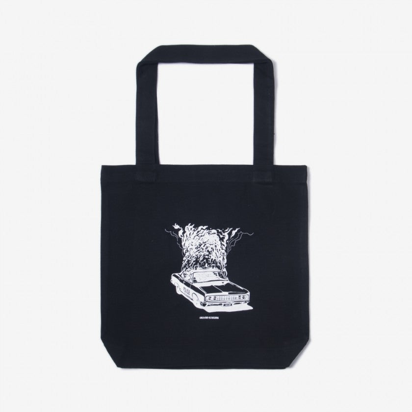 Streets are Hot - Tote Bag - Black