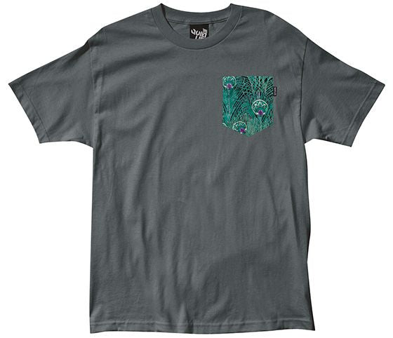 Peacock Pocket T