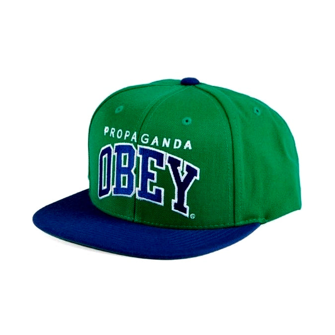 Throwback Snapback Cap -  Green Royal