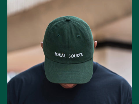 6 Panel Cap - Bottle Green