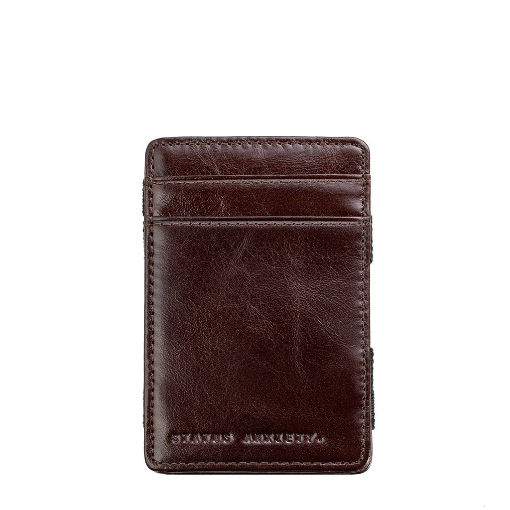 Flip Wallet - Chocolate