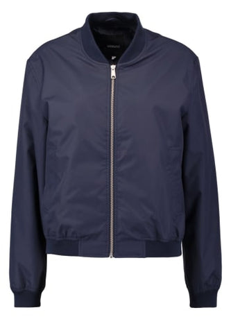 Norton Bomber Jacket - Navy Blue