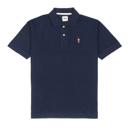 Beans Polo Shirt - Navy