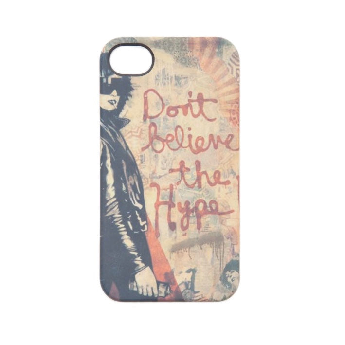 Don't Believe the Hype IPhone 5 Case