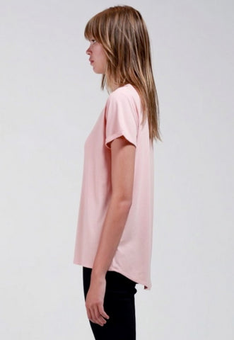 Bamboo Cotton T - Salmon