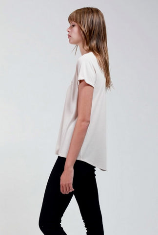 Bamboo Cotton T - Sand