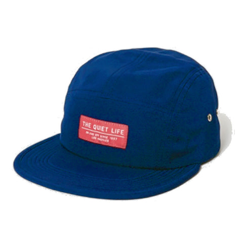 Crush Navy 5 Panel Cap