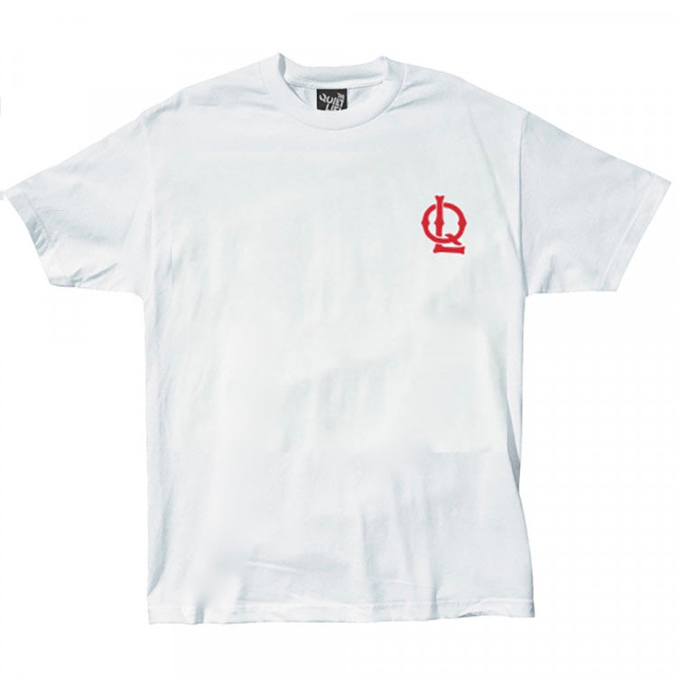 Sporty Logo Tee  - White