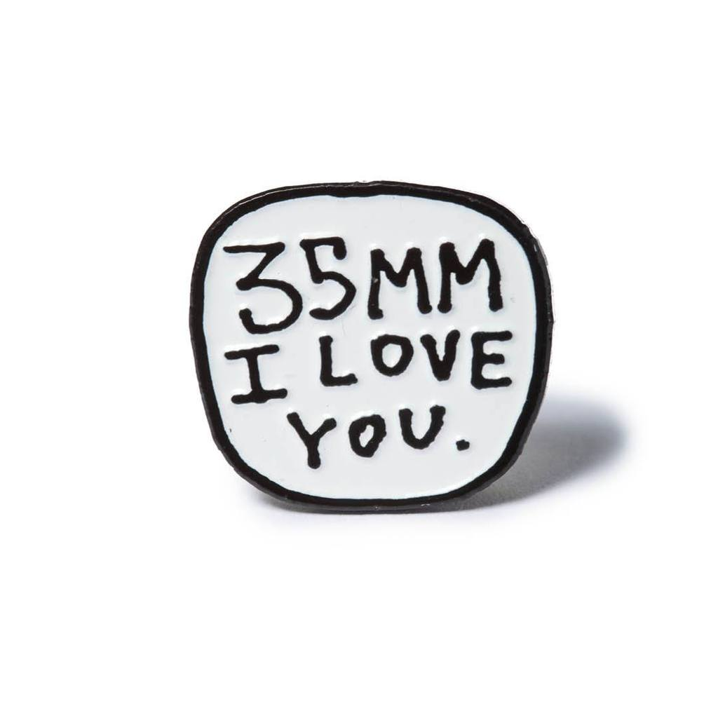 35mm I Love You lapel pin