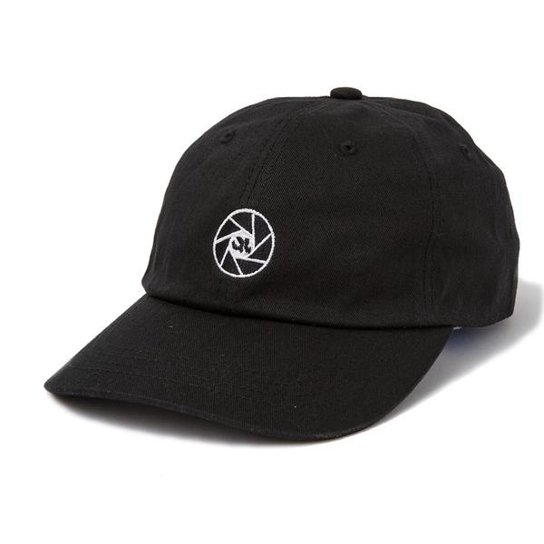 Camera Club Dad Hat - Black