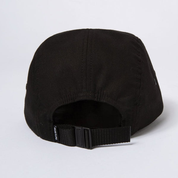 Foundation 5 Panel Cap - Black