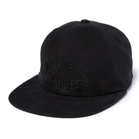Middle Of Nowhere Polo Hat  - Black