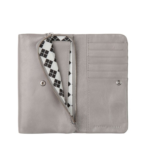 Audrey Wallet - Light Grey