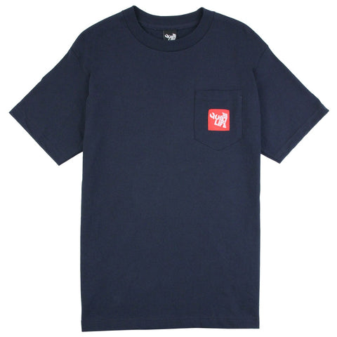 Woven Label Pocket T