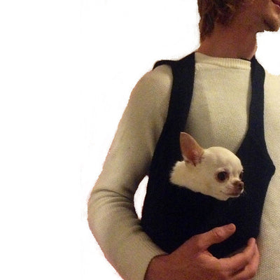 DOG CARRIER A HANDSFREE ERGONOMIC TRAVEL PET SLING WITH POCKET