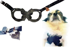 DOG HARNESS LEATHER ADJUSTABLE STEP IN BUTTERFLY on SHARK TANK