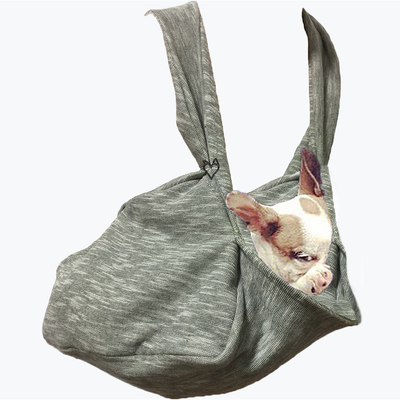 PADDED SHOULDER Summer Fabric Scarf Pocket Dog Carrier on Shark Tank
