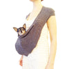 DOG CARRIER GREY SHORT PET SLING