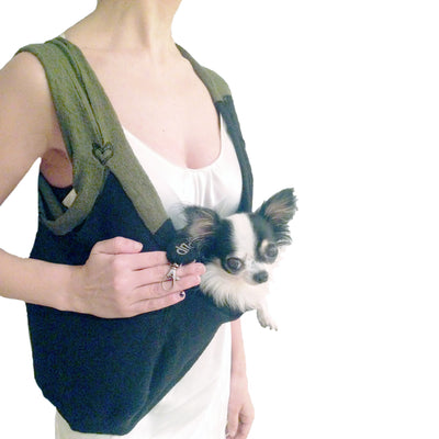 HEART PUP Limited Edition SHARK TANK Color-Blocked DOG CARRIERS