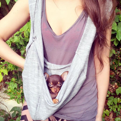 Summer Cotton and Winter Wool Pet Slings and Dog Carriers