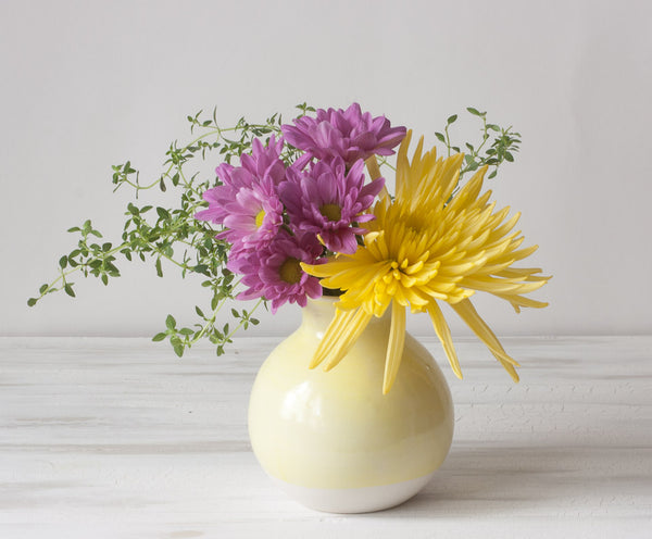 Dipped Vase And A Few Little Floral Tips Suite One Studio