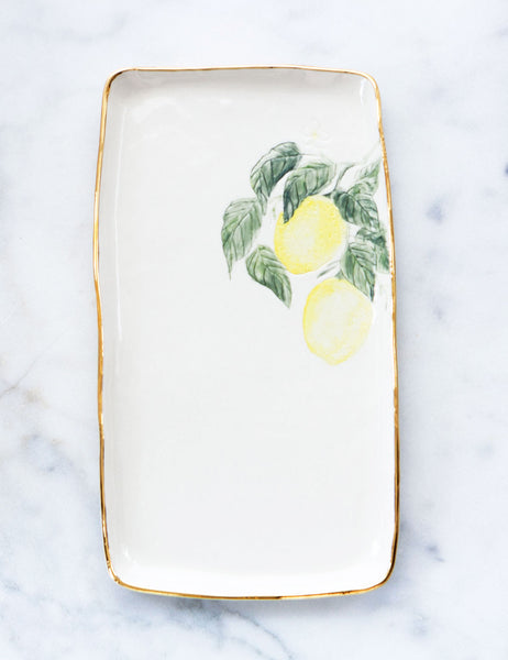 Lemon Serving Slab #1