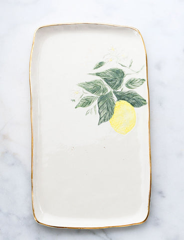 Lemon Serving Slab #2