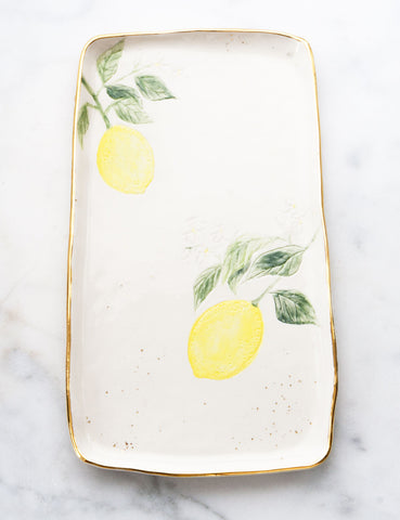 Lemon Serving Slab #4
