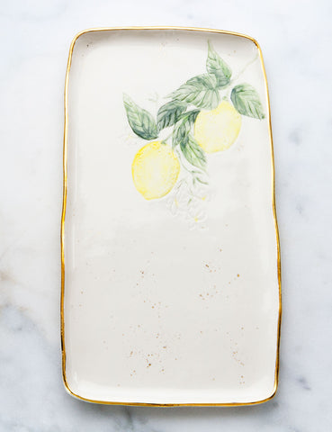 Lemon Serving Slab #5