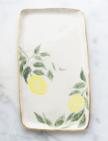 Lemon Serving Slab #6