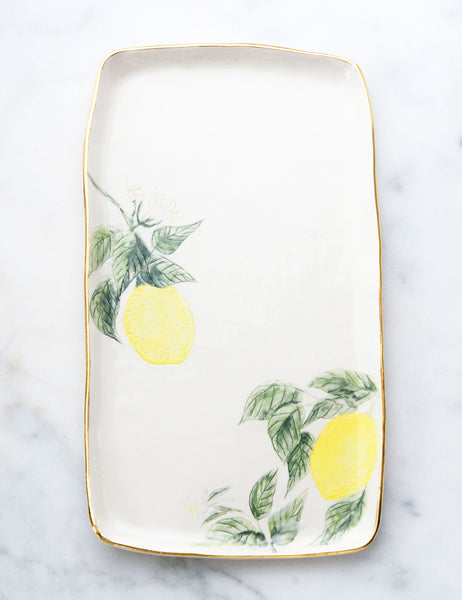Lemon Serving Slab #8