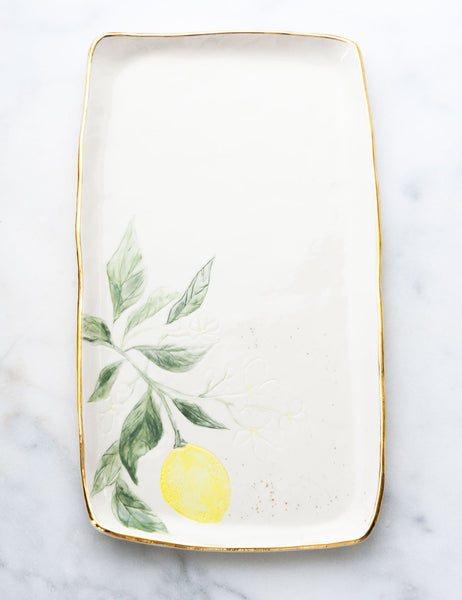 Lemon Serving Slab #9