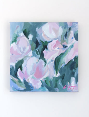 Oil Painting: Nymphaea // 12 x 12""