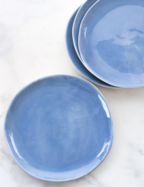 Made to Order: Dinner Plates in French Blue (Set of Four)