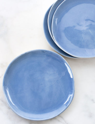 Limited Edition: Dinner Plates in French Blue (Set of Four)