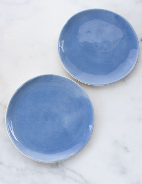 Limited Edition: Salad Plates in French Blue (Set of Two)