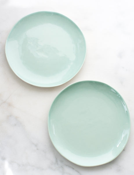 Made to Order: Salad Plates in Mint (Set of Two)