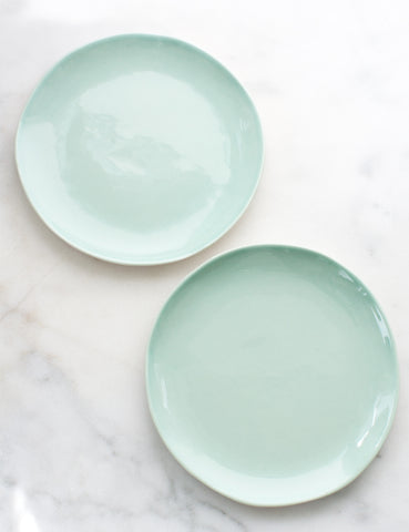 Pre-Order: Salad Plates in Mint (Set of Two)