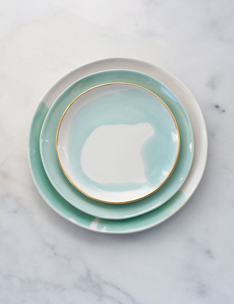 Limited Edition: Place Setting in Mint (Set of Three)